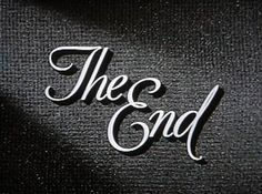 the-end-typography.jpg (450×335) #typography