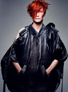My Portis Wasp says: CLICK, SNAP, BOOSH... Tilda Swinton #swinton #tilda