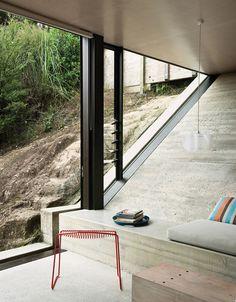 The Black Workshop #interior #concrete #design #decor #deco #decoration