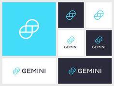 Gemini #gemini #logo #identity