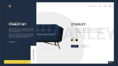 Sofas & Armchairs Landing Page on Behance