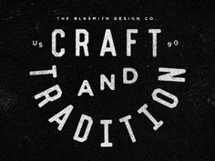 Crafttradition_dribbble #logo #identity #seal