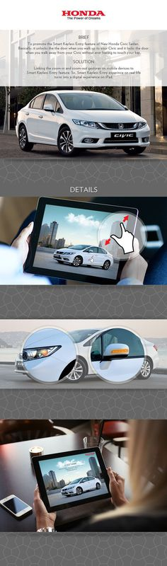 Honda iPad Ad #ipad #honda #mobile #ad