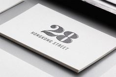 28 HongKong Street Collateral #numbers #card #business