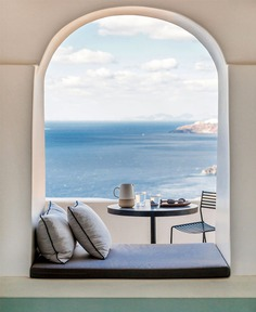 Full Renovation and Redesign of the Porto Fira Suites in Santorini