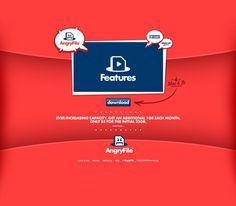 AngryFile #vector #simple #website #angryfile #layout #web