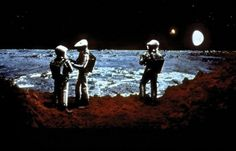 2001: A Space Odyssey film shot
