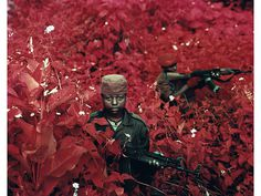 Richard Mosse | Photography #red #soldier #child