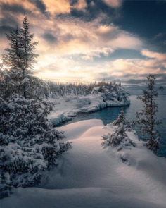 Beautiful Winter Landscapes in Canada by Joe Cantin
