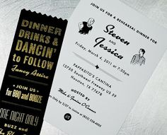 Design Style / Jessica & Steven Wedding Invitation - FPO: For Print Only #fghfh