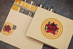 Bone Daddy's Identity Package - FPO: For Print Only #brand #identity