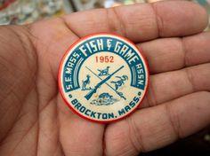 All sizes | Brockton, 1952. | Flickr - Photo Sharing! #typography #flickr #button #draplin
