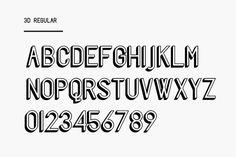 Freschezza Typeface - Marco Oggian #type