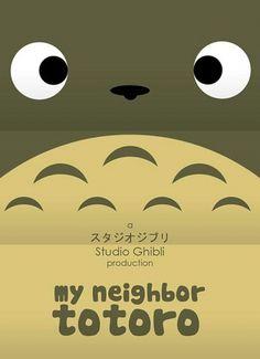 Flavorwire » Minimalist Posters for Hayao Miyazaki Movies