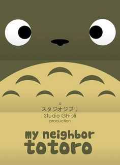 Flavorwire » Minimalist Posters for Hayao Miyazaki Movies #hayao #miyazaki #neighbor #ghibli #totoro #poster