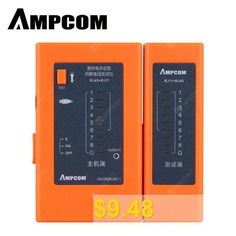 AMPCOM #Network #Cable #Tester #Detector #RJ45 #RJ11 #RJ12 #network #tool # #Cable #Wire #Test #Tool