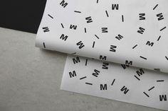 Identity #white #print #black #identity #minimal #and #mae