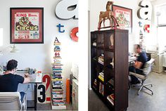 Tad Carpenter's office space #office #real life #tad carpenter