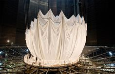 Big Air Package: The Largest Inflated Envelope in History by Christo