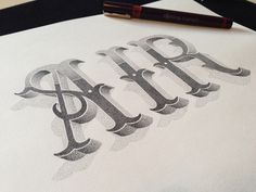 Typeverything.comAIR Hand lettering by Xavier Casalta. #type