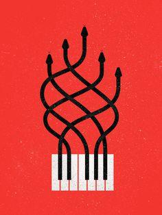 keys #music #illustration