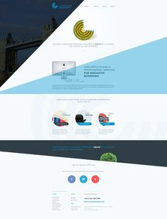 Londonbrand_homepage #website #layout #angles