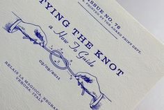 A.H - Wedding Stationary - ANOTHER EXAMPLE #typography