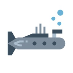 See more icon inspiration related to nautic, nautical, navigate, transportation, navigation, military, submarine and transport on Flaticon.