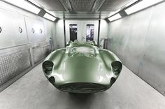 1959 aston martin DBR1 1:1 scale le mans replica by evanta motors #retro #car