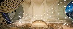 Dilapidated Sant Francesc Church Reinvented by David Closes // Santpedor, Spain. | yellowtrace blog » #white #ceiling