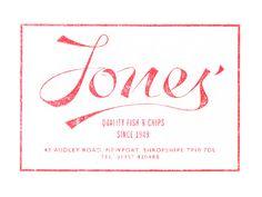 Jones' Fish #logos #script