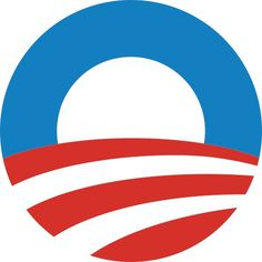 Obama logomark #political #hope #america #election #logo #obama
