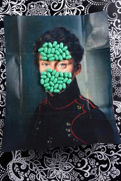 Mixed Media Collage Photography by Zeren Badar - JOQUZ #photography #collage #painting