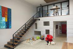 Two story loft