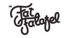 Fat Falafel #lettering #type #braning #logo #hand