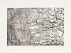 Manohead // Gravura // #art #print #press #blueprint #texture