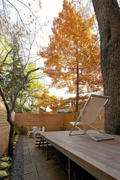 Renovation of a modern Gothic home - The Globe and Mail #deck #backyard