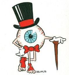 DonutChocula #illustration #eyeball