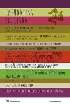 08 | Capunatina Siciliana by no zone, via Flickr #cooking #2013 #calendar #design #food #illustration #photography #calendars