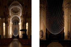 THE UPSIDE DOME by Gijs Van Vaerenbergh #installation #church #leuven #belgium #art