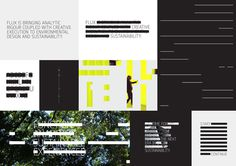 Flux on Behance #black #unique #identity #layout #deisgn #typography
