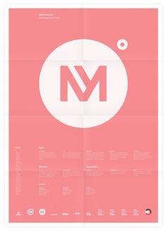 Universal Branding System (Minervalerio) Poster