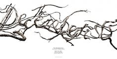 Sean Freeman // The Decemberists • Twigs #tree #direction #physical #art #branches #typography
