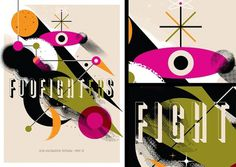 Work: Posters: Foo Fighters #poster