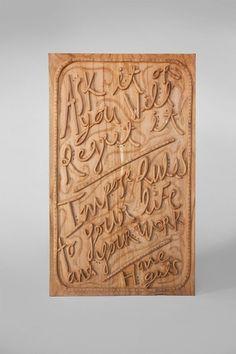 --BALI CRAFTS-- : Karim Charlebois-Zariffa #wood #typography