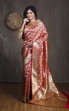 Trendy Banarasi Sarees for wedding