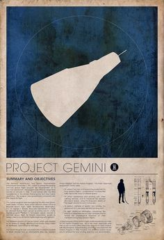 Space Race - Astronaut on the Behance Network #justin #van #genderen #space #vintage #poster
