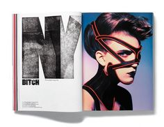 Plastique Magazine: Issue 4 « Studio8 Design #typohgraphy #layout #editorial #magazine