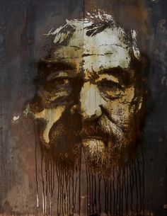 Metals - Alexandre Farto aka Vhils Selected Works #metal #art
