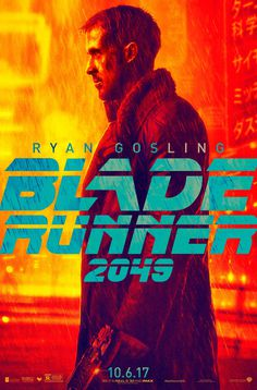 Blade Runner 2049 Poster with Ryan Gosling